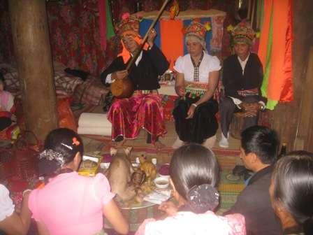 Lễ Kin Pang Then của người Thái trắng Điện Biên - P3