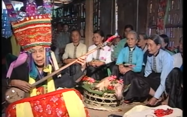 Lễ Kin Pang Then của người Thái trắng Điện Biên - P1