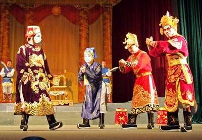 Nghệ thuật hát Bội ở Bình Định