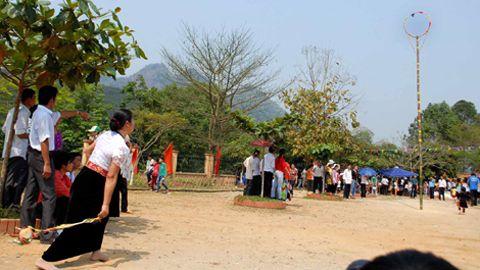 Tung Còn, trò chơi truyền thống dân tộc Thái