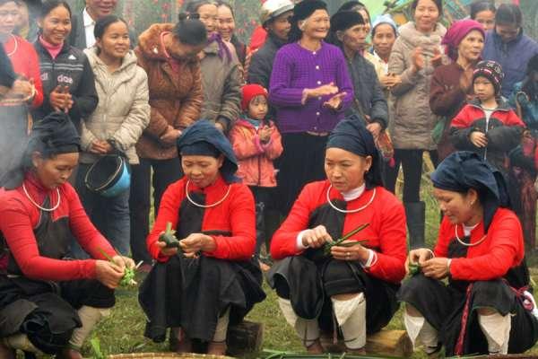 Độc đáo đám cưới của đồng bào Cao Lan