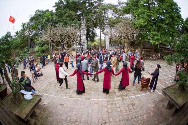 Hát Xoan làng cổ sản phẩm du lịch đặc sắc của đất Tổ