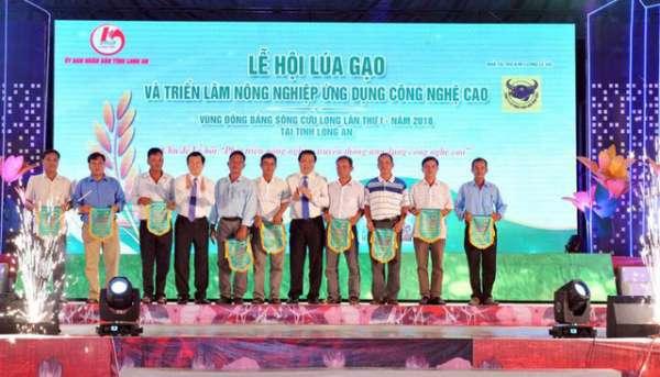 Lễ hội Lúa gạo và Triển lãm nông nghiệp ứng dụng CNC vùng ĐBSCL