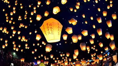 Ngôi làng gửi điều ước tới người chết ở Đài Loan hàng năm