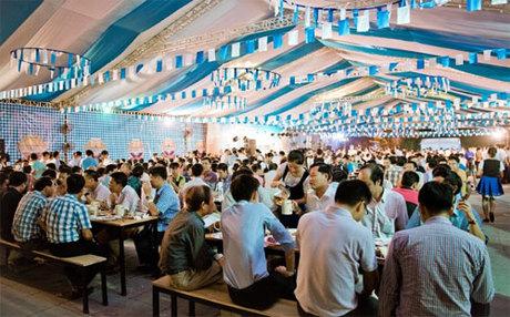 Cháy vé lễ hội bia Oktoberfest ngày 12 tháng 10 ở Hà Nội
