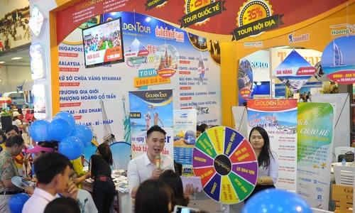 Tour, vé máy bay giảm đến 90  tại hội chợ du lịch ở Hà Nội