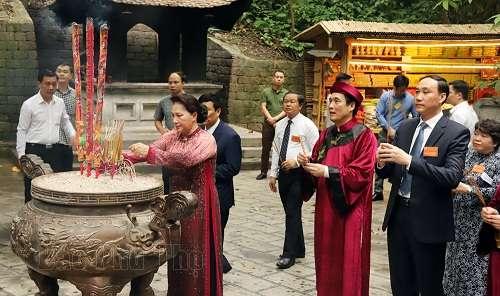 Lễ dâng hương tưởng niệm các Vua Hùng năm Kỷ Hợi 2019