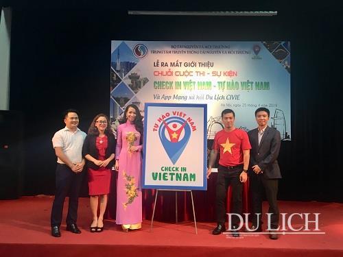 Ra mắt chương trình Checkin Vietnam - Tự hào Việt Nam