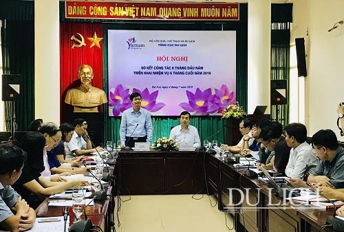 Tổng cục Du lịch triển khai nhiệm vụ 6 tháng cuối năm 2019