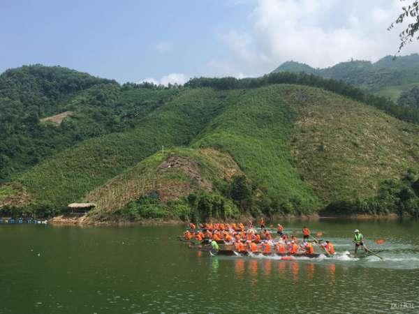 Hấp dẫn Lễ hội đua thuyền huyện Quang Bình lần thứ VI năm 2019