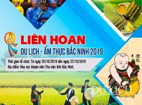 Gần 100 gian hàng giới thiệu sản phẩm tại Liên hoan Du lịch - Ẩm thực Bắc Ninh năm 2019