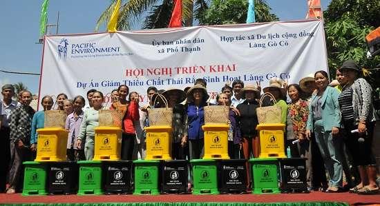 Triển khai mô hình Làng không rác tại Quảng Ngãi