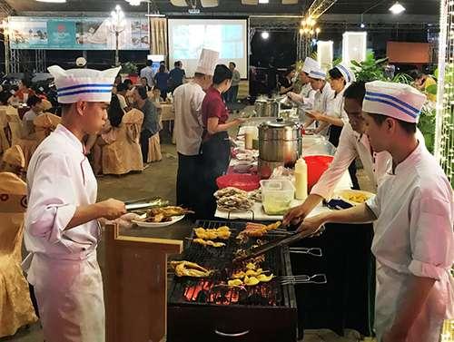 Không gian ẩm thực đặc sản Bình Thuận 2019