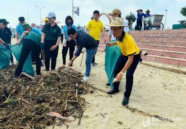 Du lịch Nghệ An chung tay bảo vệ môi trường, hạn chế rác thải nhựa