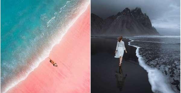 Những bãi biển màu mè nhất thế giới mà bạn sẽ không tin có thật ngoài đời, xem xong mới thấy thiên nhiên  vi diệu  thế nào
