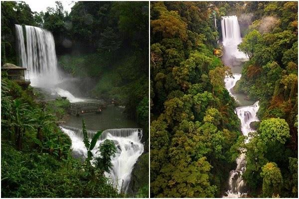 Trải nghiệm mới lạ tại thác Dambri