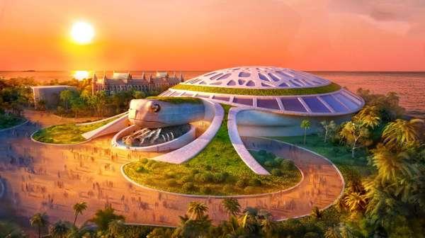 Hé lộ thuỷ cung Kim Quy hoành tráng sắp xuất hiện ở Phú Quốc