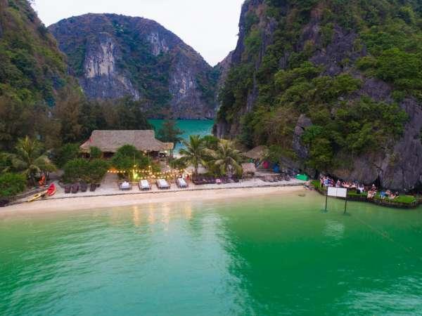 Đảo Tự Do, hòn đảo sở hữu hai mặt biển ít người biết ở Việt Nam