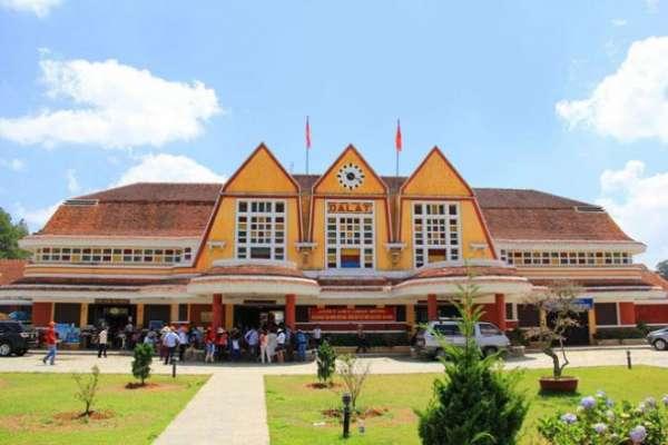 Ga Đà Lạt - nhà ga xe lửa đẹp nhất Đông Dương