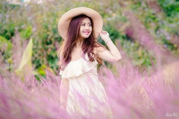 Cùng check-in tại đồi cỏ hồng đẹp như truyện tranh tại Lâm Đồng