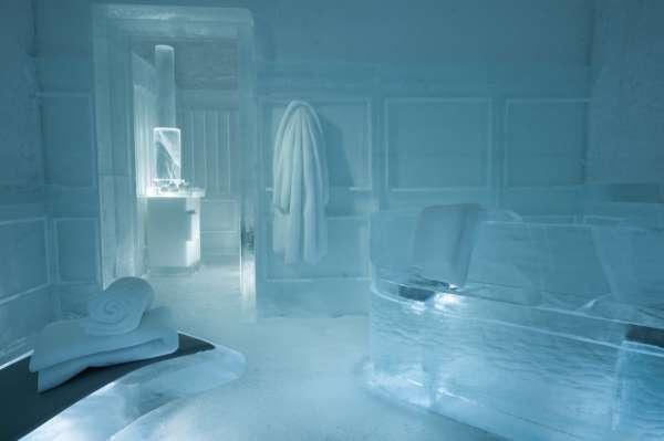 Khách sạn có phòng xông hơi băng