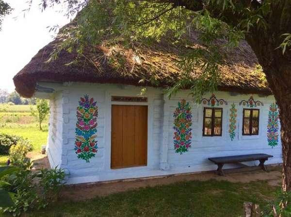 Ngôi làng phát cuồng với các họa tiết bằng hoa, biết được nguồn gốc ai cũng bất ngờ