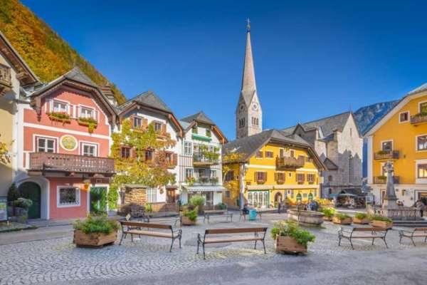 Những thị trấn đẹp như tranh vẽ ở châu  u-Bạn sẽ không tin là có tồn tại