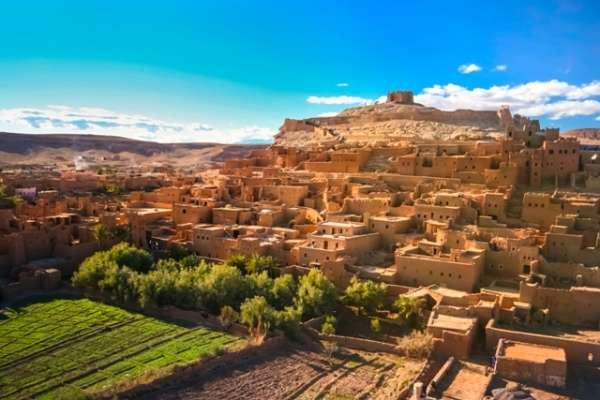 Ait Benhaddou-Ngôi làng cổ bước ra từ thế giới phim ảnh
